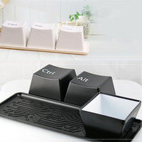 Creative Keyboard Fashion Plastic Black   White Water Cup Br...
