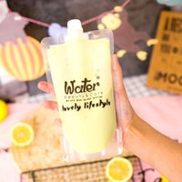 100 Pcs Cute Design Stand up Plastic Drink Packaging Spout B...