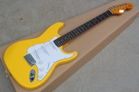 Free Shipping China Custom Guitar new yellow cream ST Electr...