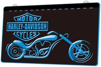 LD2157- b Motorcycle Bike Sales Services Neon Light Sign Deco...