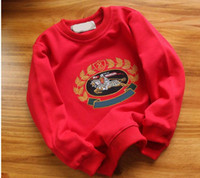 Boys LOEWE pullover sweatshirt Girls hoodies Children Outerw...