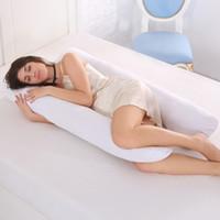 Hamile Kadınlar Vücut U Masa Annelik Yastıklar Gebelik Yan Sleepers için Destek Yastığı Sleeping% 100 Pamuklu Gebelik Yastık