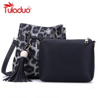 Tuladuo 2 Pieces Bags for Women 2018 New Ladies Pu Leather H...