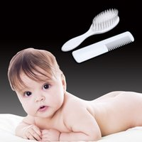 2pcs Set Newborn Baby Hair Brush Soft Infant Comb Head Scalp...