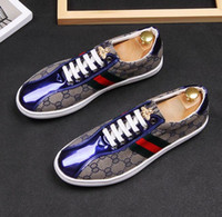 2019 mens shoes mens loafers stylist metal embroidery canvas...