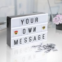 DIY Letter Light A6 Combination LED Night Light Box Night La...