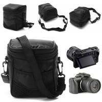 SIV Black Digital Camera Wasserdichte Fall Umhängetasche für Nikon Canon ILDC-Kamera Neue