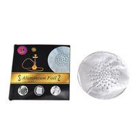 Date Aluminium Feuille Narguilé Shisha Bol Fumer Pipe Accessoires Haute Qualité Blowhole Stomata Vente Chaude Multiple Usages DHL Gratuit