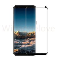 Case Friendly Tempered Glass 3D Curved screen protector For Galaxy S9 Note 8 S8 Plus S7 Edge note 9