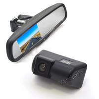 VARDSAFE VS302R  . Monitor dello specchio di sostituzione della fotocamera del backup dell'automobile per il transito di Ford Connect