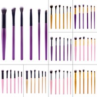 6pcs Portable Makeup Brushes Kits Eyeshadow Brushes Eyeliner...