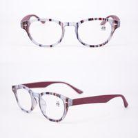 Fashion Damen Designer Lesebrille Blau Rosa in hoher Qualität mit Beutel und Stoff Discount Oval Lady Optical Frame Glas