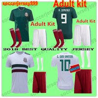 MEXICO Soccer Jersey Adult kit sets 2018 world cup CHICHARIT...