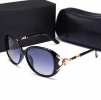 7043486e44 2018 New Brand Women Sunglasses With Logo Big Frame Oval Design Style  Fashion Girl Sun Glasses Classic 6 Colors Polarizing Eyewear