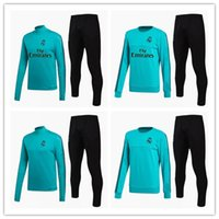Real Madrid TRACKSUIT survetement GREEN jacket Training suit...