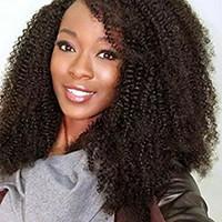 Afro Kinky Kıvırcık 360 Tam Dantel Bandı Frontal Peruk 180% Yüksek Yoğunluk Öncesi PLUCKED Doğal Saç Çizgisi 4B 4C (12 inç, Afro Kinky