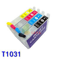 T1031 Boş Doldurulabilir Mürekkep kartuşu EPSON T23 / T24 / TX105 / TX115 yazıcılar ile ARC CHIPS