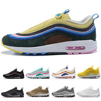 97 Mens Running shoes air Cushion for Women maxes size 97 Tr...