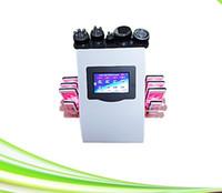 frete grátis 6 em 1 Magro Ultrasonic vácuo Tripolar RF celulite cavitação lipólise máquina