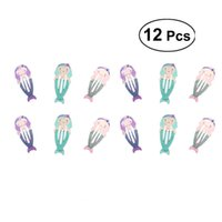 12pcs Lovely Metal Snap Hair Clips Barrettes Hair Accessorie...