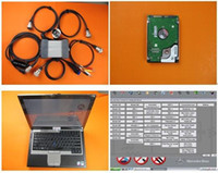 Laptop ile MB Yıldız C3 Pro D630 Teşhis Aracı Yazılımı 160 GB HDD Tarayıcı kullanıma hazır