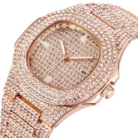 Wholesale Watches Mens Luxury Brand Diamond Calendar Quartz ...