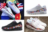 90 NIC QS Brand World Cup International Flag 90 Shoes Pack A...