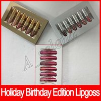 Holiday Edition lip gloss Kit Birthday Edition MATTE Liquid ...