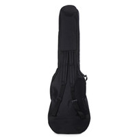 1pcs Double Straps Electric Guitar Bag Soft Case Gig Padded Bag Backpack Guitar single mention backpack Instrument Bags & Cases