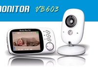 VB603 3. 2 inch Wireless Video Color Baby Monitor High Resolu...