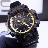 d4e1bd433f0 Sport men watches luxury brand 47mm dial LED Digital 100m wa.