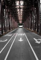 Европейская архитектура мост фон для фотографии печатных Улица руководство стрелки свадебные фотосессии фонов для студии