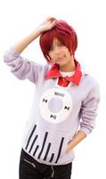 Kagerou Projesi MekakuCity Aktörler No.1 Kido Tsubomi Hoodie Kostüm