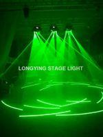 2 adet / grup Yeşil 9 Gözler Lazer Hareketli Kafa Işın Örümcek 3x3 Yeşil Lazer Işık Partiler Için Disko Parti Gece Kulübü Pub Bar KTV
