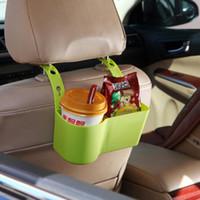 자동 음료 홀더 다기능 식품 선반 컵 홀더 자동차 용품 좌석 등받이 조정 가능한 주최자 자동차 용품