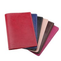 Zongshu high quality women' s genuine leather passport c...
