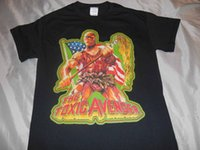 the toxic avenger t shirt rare horror movie gore creature cu...