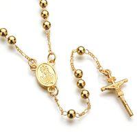 bijoux JESUS CROSS mode collier pendentif bijoux hip hop bijoux chaîne Symbole chrétien de Nice cadeau de haute qualité