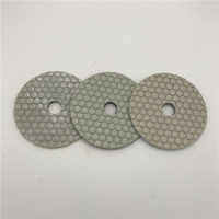 3 Step Polishing Pad 4 inch (100 mm) Dry Polishing Granite M...