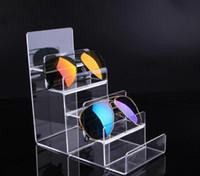 Portafoglio di alta qualità Portafoglio acrilico Espositore per porta occhiali Porta sigarette per cosmetici Porta smalto per unghie che mostra il supporto