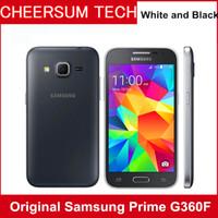 Восстановленное в оригинальном разблокированном Samsung Galaxy G360F 4G LTE одно SIM 4.5 дюймовый четырехъядерный процессор 1 ГБ RAM 8 ГБ ROM 5MP камера мобильного телефона 10 шт. Бесплатно DHL