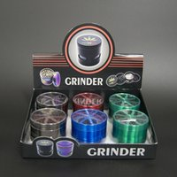 Herb Grinder With Clear Top Lighting Window 4 Layers 40 50 5...