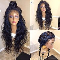 9A Grade Brazilian 100% Virgin Water Wave Full Lace Wigs wit...