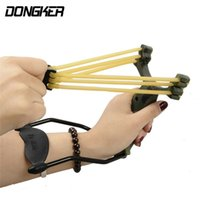 Outdoor Powerful Camouflage Slingshot Catapult Caza Folding ...