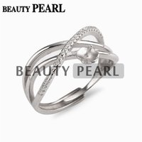 5 Pieces Criss- cross Ring Cubic Zirconia 925 Sterling Silver...