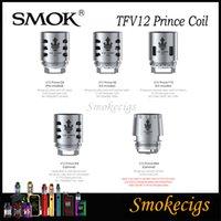 SMOK TFV12 Prince Coils di ricambio per Smok Tfv12 Prince Tank Q4 0.4ohm X6 0.15ohm M4 T10 0.12ohm Prince RBA Core 100% originale