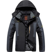 Winter Ski Jacket Men Waterproof Fleece Snow Jacket Thermal ...