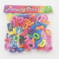 100pcs set Elastic Hair Band Holders Rubber Bands Hair Acces...