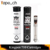 King Pen 710 Cartridge 0. 5ml 1. 0ml Vaporizer Cotton Ceramic ...