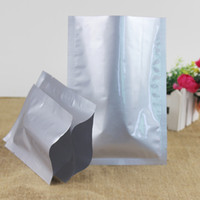300pcs lot Aluminum Foil Vacuum Bag 3 Sides Open Top Foil Pa...